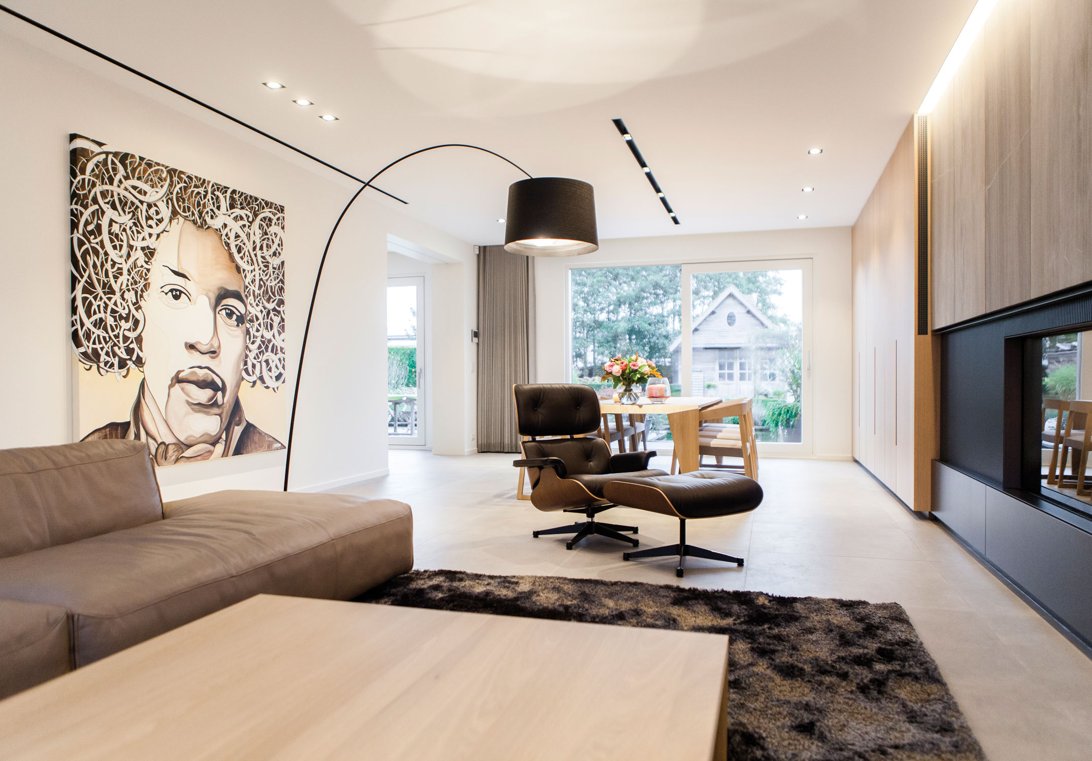 Design Keuken Gent : Private residence by fugazzi be project delta light