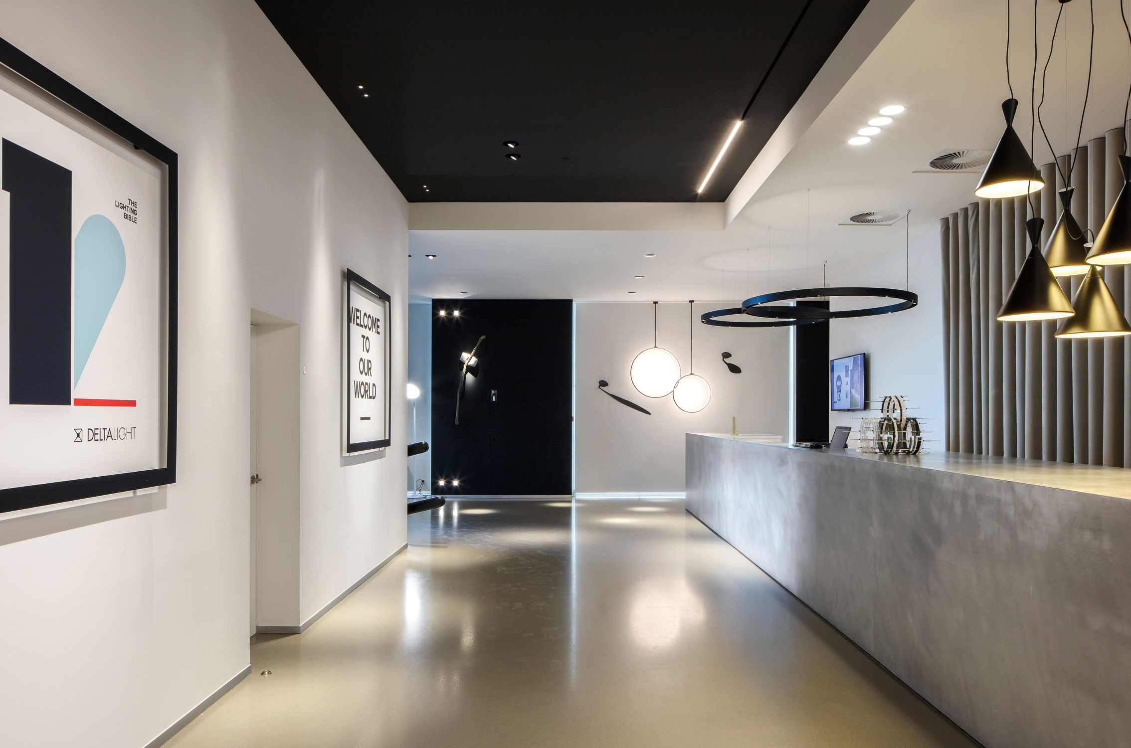 Delta Light Hq Showroom Lb12 Projet Delta Light